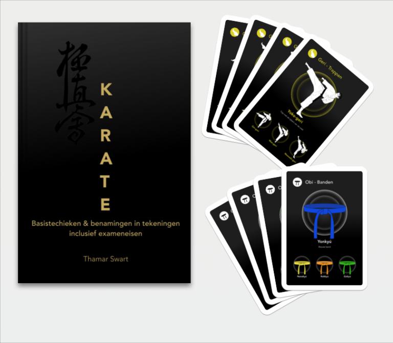 Karate boek en kwartet